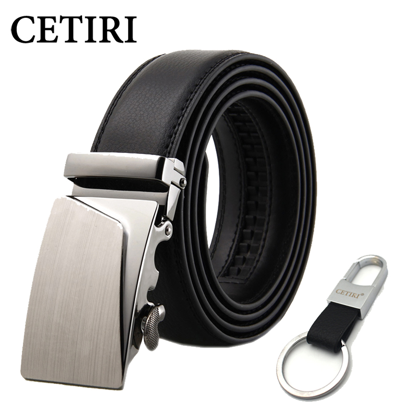 Mens Designer Belts 2018 Real Genuine Leather Automatic Buckle Male  Waistbands Belts Luxury Ceinture Homme Luxe Marque Promotion b8682512bb9