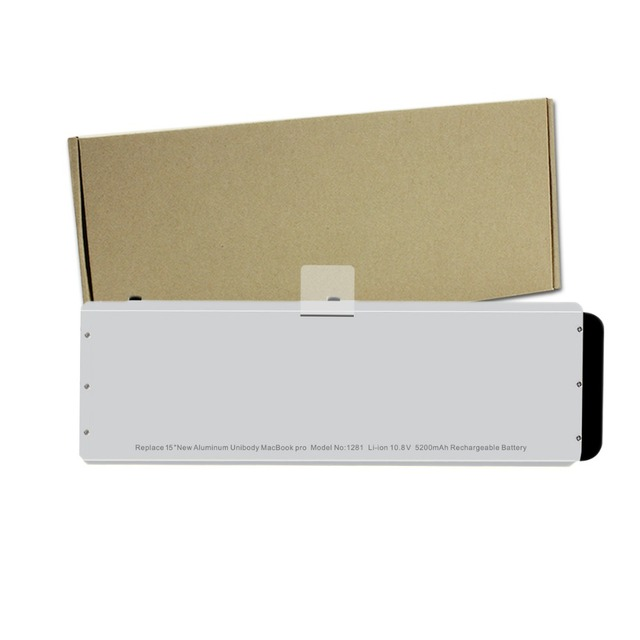 "Nueva Batería Del Ordenador Portátil para Apple A1281 A1286 Macbook Pro 15 ""Unibody de aluminio (Versión 2008)-12 Meses de Garantía"