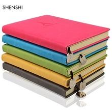 Creative Business Leather Notebook A5/B5 Diary Planner Notebook Sketchbook Journal Travel Notebook Office School Supplies 25-20 все цены