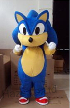 Adult Size Cartoon Mascot Costume Sonic Cosplay