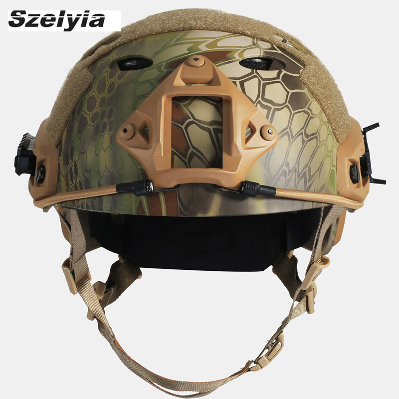 Airsoftsports Fast Helmet Army Military Tactical Helmet Paintball Hunting Cs Protective Helmet Casco Airsoft Accessories Helmet tactical protective helmet outdoor airsoft cs game paintball head protector fast ops core helmet safety helmet