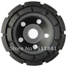 7'' NCCTEC diamond grinding CUP wheel | 180mm Concrete granite marble grinding disc | double row disk