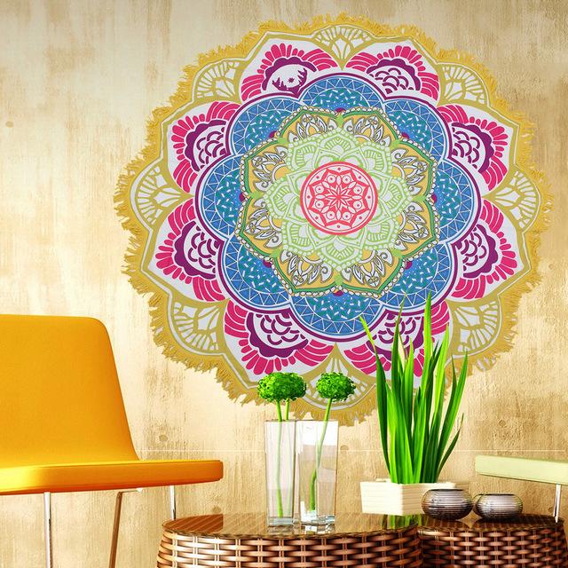 Indian Mandala Boho Tapestry