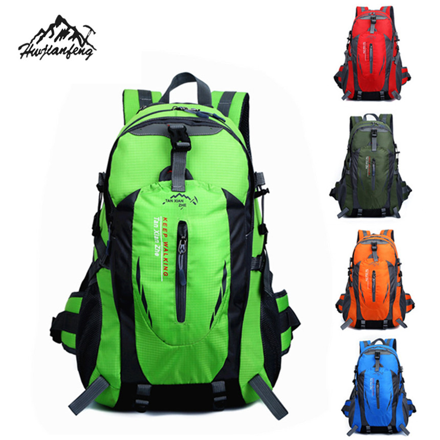 Hot Sale Gifts 40L Waterproof Backpack Shoulders Bags Sports Climbing Travel Hiking Camp ...