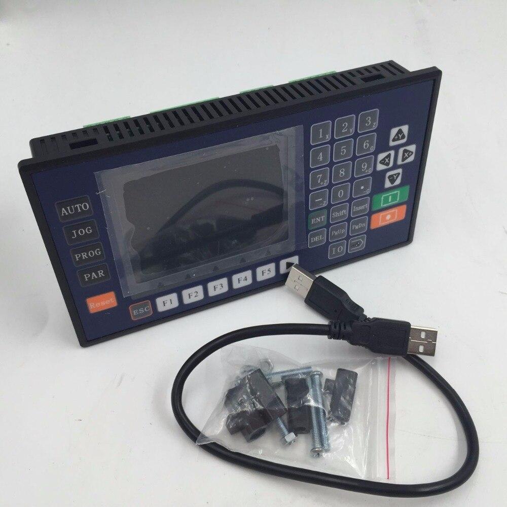 CNC 3 Achsen TFT Kommunikation RS485 Drehmaschine System Controller Servo Stepper Controller Für CNC Fräsen Maschine Ein Jahr Garantie