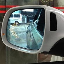 Savanini Nuevo Poder Climatizada Azul Gran Angular Vista Lateral Del Espejo Retrovisor Gafas Para Audi Q5/Q7 2008-2015