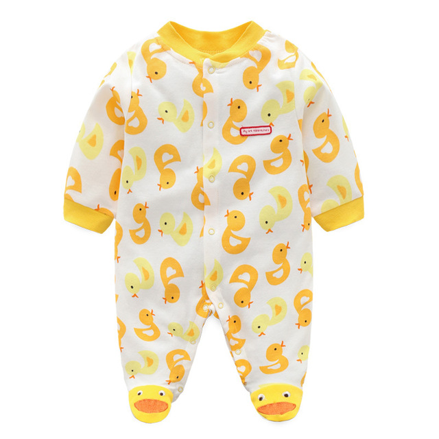 3cf56654a836 2019 Baby Rompers Cotton Body suits Long Pajamas Romper payifang ...