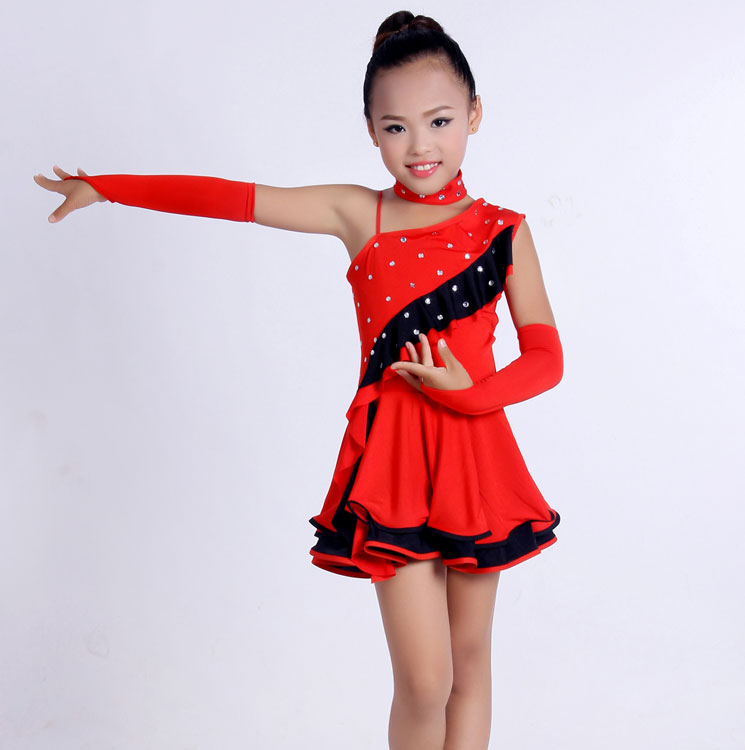 Latin Dance Dress Women Girls Latin Dress Ballroom Dance Costume ...