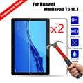 9 H Real Gehard Glas Tablet Screen Protector Voor Huawei MediaPad T5 10.1 Krasbestendig Ultra Clear Glossy Film