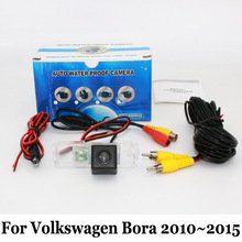 Car Rear View Camera For Volkswagen VW Bora 2010~2015 / RCA Wired Or Wireless / CCD Night Vision / HD Wide Lens Angle Camera