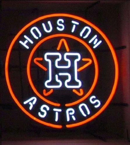 Houston Astros Neon Light Sign Beer Bar