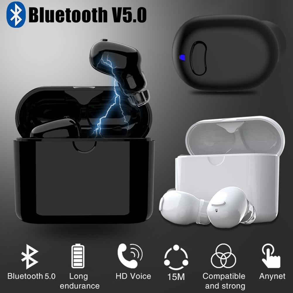 For I7 TWS Bluetooth Headset 5.0 Handsfree Wireless Binaural Bluetooth 570 Shenzhen Sports Bluetooth Private Mode TWS