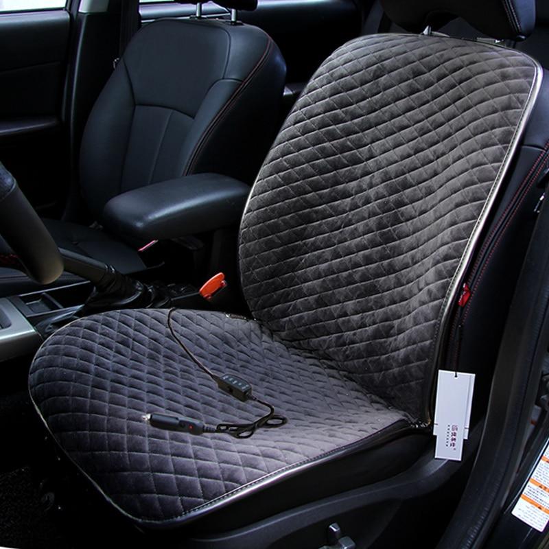 Winter Car Heated Cushion Car fice Chairs Electric Heated Seat Cushion Carbon Fiber Electric Heating