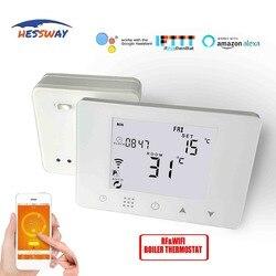 HESSWAY TUYA sans fil RF 5A Bolier thermostat chauffage wifi chaudière pour contact sec fonctionne avec Alexa Google home