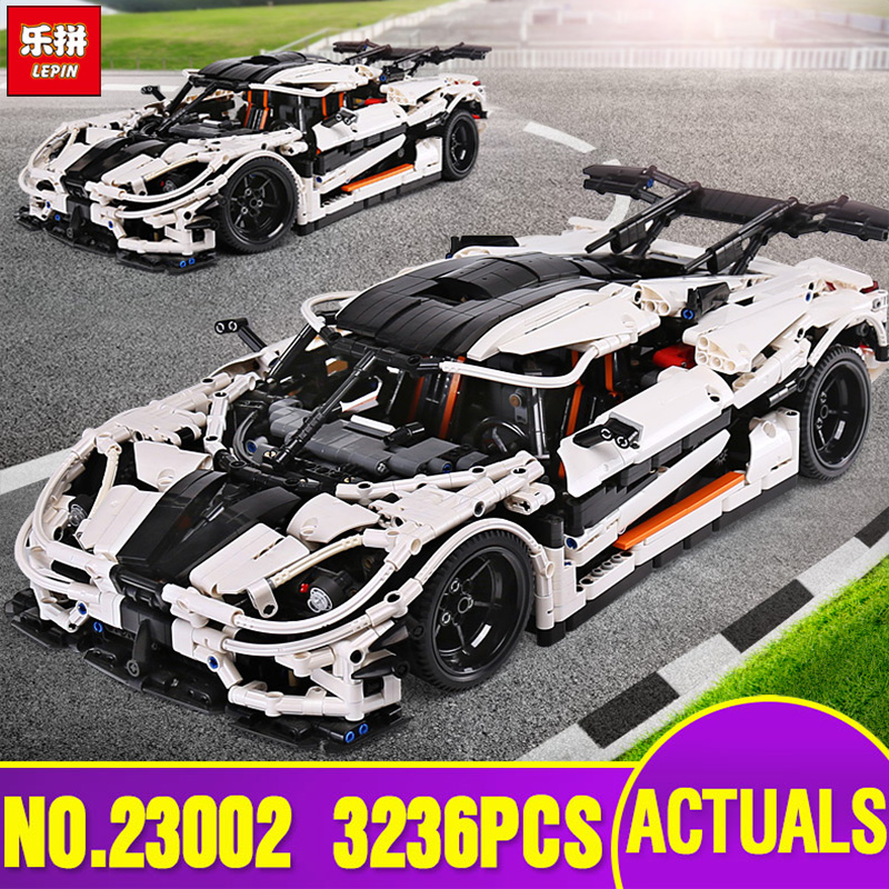 Lepin 23002 Technic Series The MOC-4789 Changing Racing Car Set Children Educational Building Blocks Bricks Toy Legoinglys Model цена