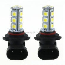 3w DC12V White 9005 9006 H8 H11 18SMD 5050 Car LED Bulb led light led lamp light 3w led Fog Driving 2 pcs(China)
