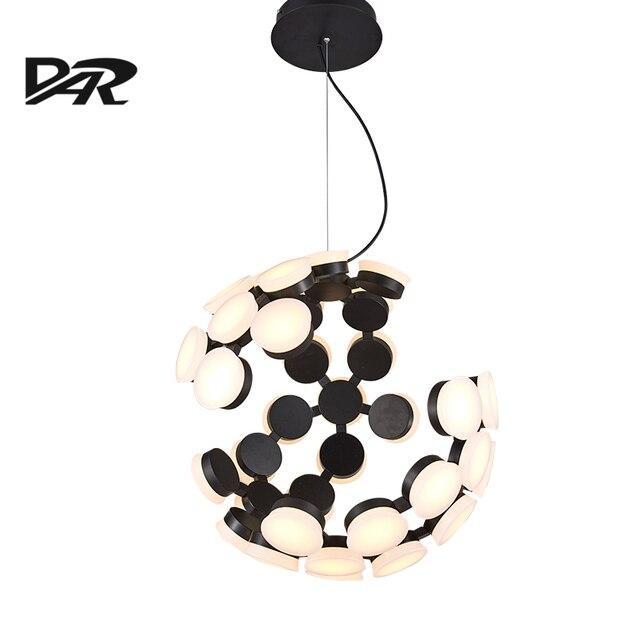 Nordic Art Pendant Light 36 Heads Acrylic Shade black white Led Pendant Lamp Loft Lustre Lamparas.jpg 640x640 10 Unique Lustre Pendant Hht5