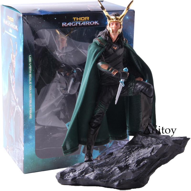 Action Figures Marvel Iron Studios Thor 3 Ragnarok Loki 1/6th Scale Collectible Figure Statue Model Toy