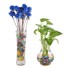 Colorful Water Plant Flower Jelly Crystal Soil Mud Hydro Gel Beads Balls 1000pcs ball