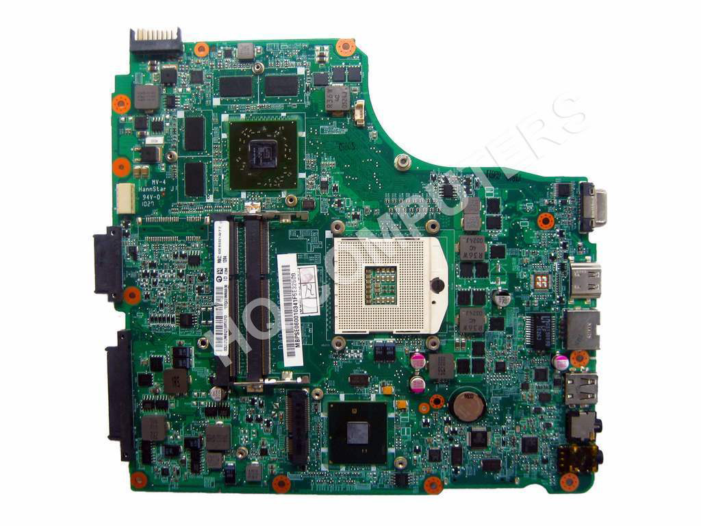 SHELI laptop Motherboard For Acer 4820 4820TG DA0ZQ1MB8D0 MBPVL06001 MB.PVL06.001 HD 5650 non-integrated graphics card