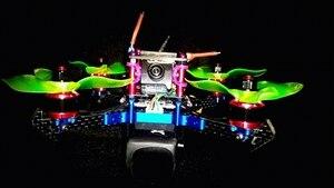 Image 5 - 4pcs/set KingKnight 1306 Brushless Motor 3200KV 4100kv 1306 Motor Brushless Drone Motors CW for QAV130 150 180 Quadcopter