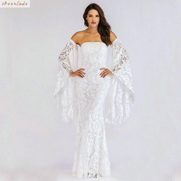 calidad autentica nueva llegada colores delicados Las mujeres vestidos de fiesta formal vestido de chica joven vacaciones  reunión ropa blanca la buena ...