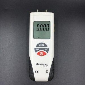 Image 1 - HT 1890 Digital Manometer air pressure meter air pressure Differential Gauge Kit 55H2O to +55H2O Data Hold medidor presion