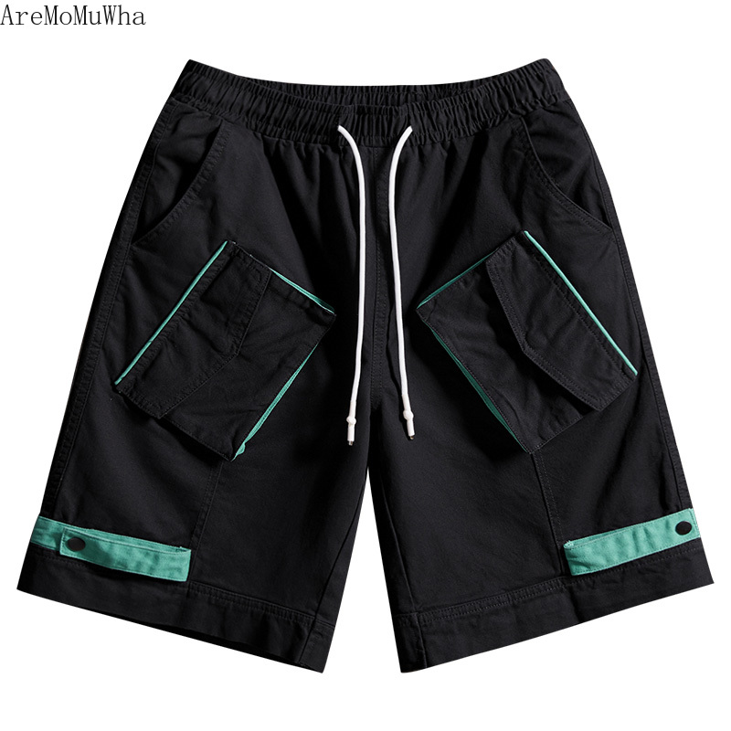 Casual Shorts Able Aremomuwha Japanese Street Harajuku Style Pocket Hit Color Five Shorts2019 Summer Function Student Wild Tooling Shorts Tideqx729 Do You Want To Buy Some Chinese Native Produce?