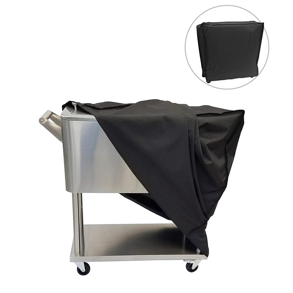 Garden Furniture Cover Dustproof Waterproof Cover Outdoor Refrigerator Oxford Cloth Protective Cover Cold Drink Fried Ice Hood