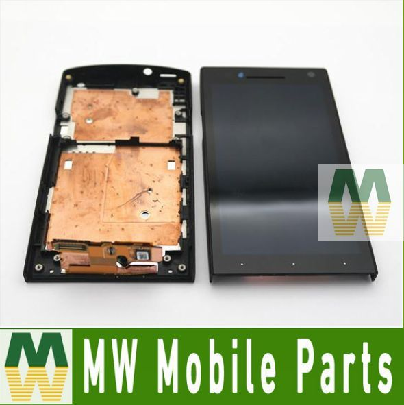 1PC /Lot  For Sony Ericsson Xperia S  LT26i LT26 LCD Display +Touch Screen +Frame Full Assembly  Free Shipping