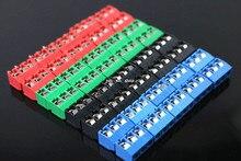 10 PCS KF301-5.0-3P Pitch 5.0mm KF301-3P Straight Pin PCB 2 Pin 3 Pin Screw Terminal Block Connector