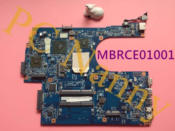 MBRCE01001 48.4HP01.011 laptop motherboard for Acer aspire 7551 AMD S1 w/ AMD graphic free CPU fully working Grade A