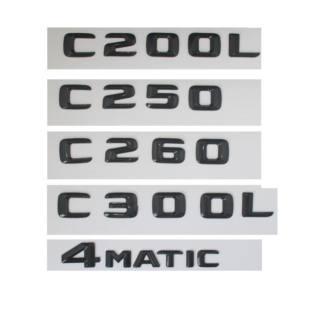 Trunk Rear Emblem Badge Chrome Letters C 36 fits Mercedes Bnez W202 C-Class C36