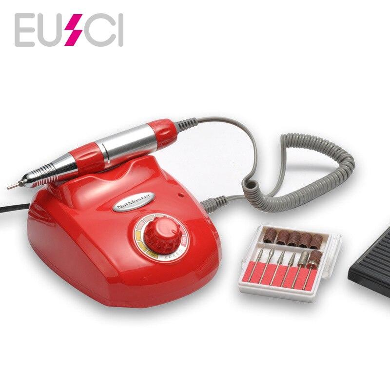 все цены на 30000 RMP Pedicure Polish Machine Nail Art Nail Drill Electric Apparatus for Manicure Gel Cuticle Remover Milling Drill Bits Set онлайн