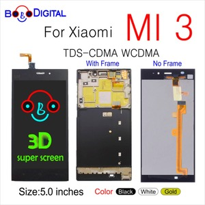 Image 1 - สำหรับ XIAO mi mi 3 mi 3 จอแสดงผลกรอบ TDS CDMA WCDMA 5.0 LCD ต้นฉบับสำหรับ Xiao mi mi 3 จอแสดงผล LCD การเปลี่ยน