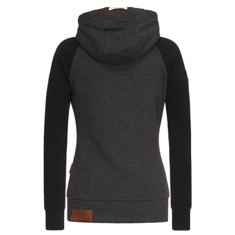 Women Oversized 5XL sweate Pullover Hooded Knitted Loose Warm Zipper Streetwear Fashion Winter Coat Sherpa Hooded Tops in Hoodies amp Sweatshirts from Women 39 s Clothing