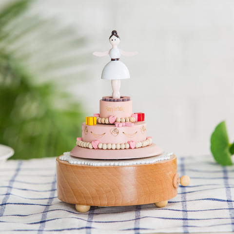 14 Type Wooden Music Box Creative Gift Gifts For Kids Musical Carousel Ferris Wheel Boxes Boxs Navidad Decorations For Home Multan