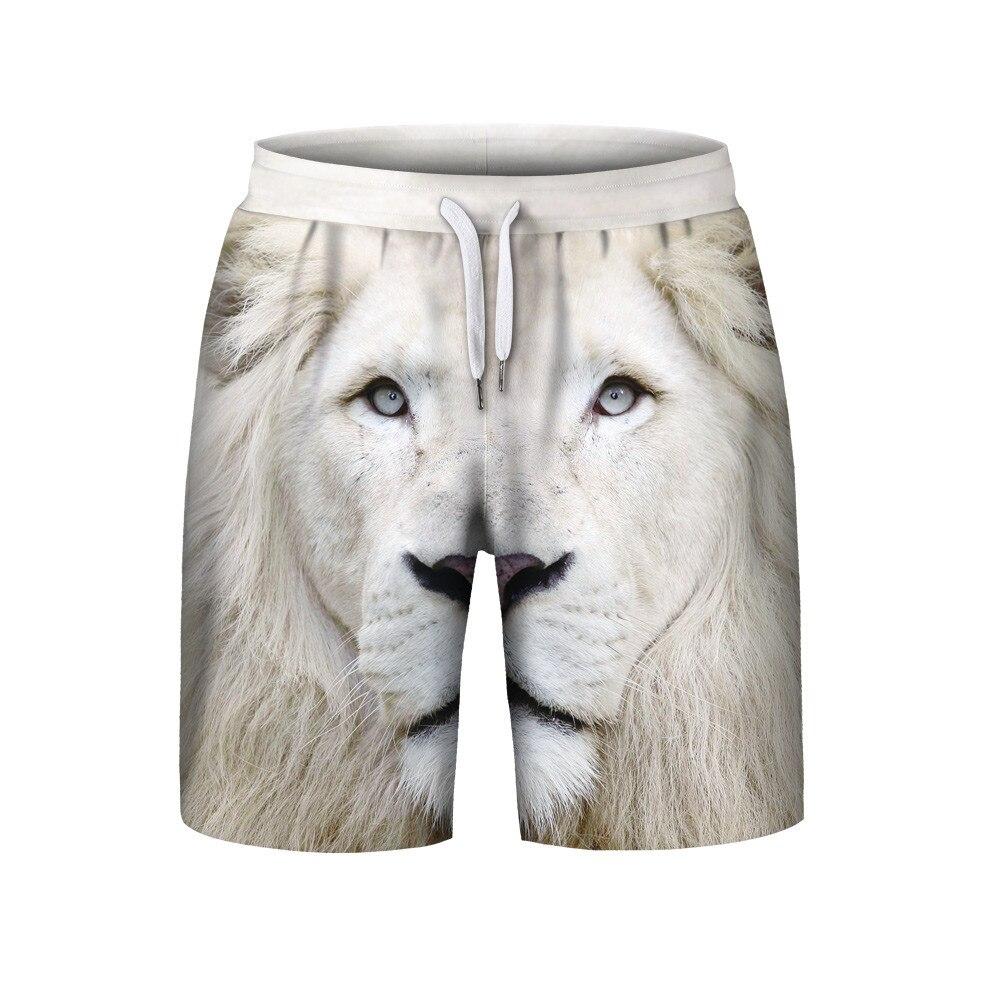 2018 Neue Heiße Männer Sommer Casual Plus Größe 3d Gedruckt Strand Shorts Hosen Für Männliche Drop Verschiffen VerrüCkter Preis