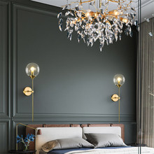 Modern Led Light for Mirror Makeup Wandlamp Retro Led Lampara Pared Industrial Vintage Wall Light Bra Iron Loft Lamps Reading iwhd vintage glass lampara pared creativeretro iron loft wall lamp black bedroom lighting stairs beside reading light fixture