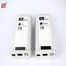 2 шт. серый + Матовый Черный Совместимость HP70 LG картридж с чернилами для HP 70 Z2100 Z3100 Z3200 Z5200 принтера 130 мл чернильный картридж