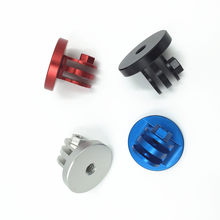 For Gopro Accessories Aluminum Alloy Go pro Mount Adapter 1/4 Tripod Mount Adapter for Gopro Hero 6 5 4/ 3 / 2 SJ4000 5000(China)