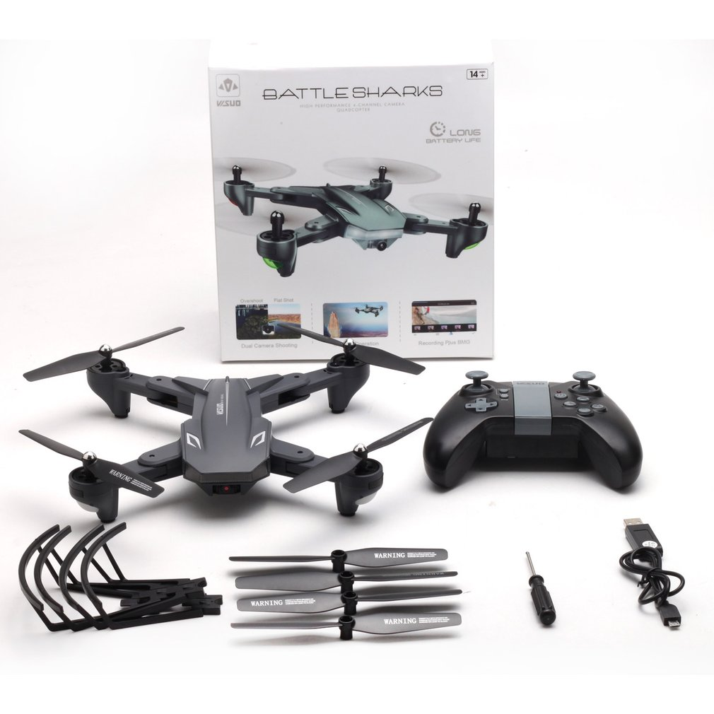 XS816 WiFi FPV RC Drone flux optique 720 P/4 K HD caméra intelligente RC avion pliable Selfie Drone VS XS809S XS809HW SG106 RC Drone