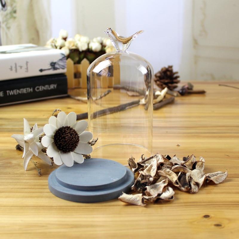 Einfache Moderne Getrocknete Blumen Handwerk Desktop Transparent Glas  Dekoration Künstliche Blumen Vintage Hauptdekor Hochzeitsdekoration In  Einfache ...