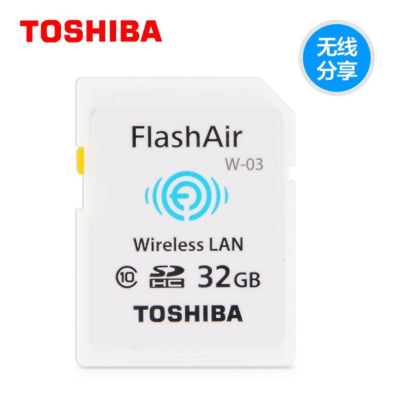 100% original TOSHIBA partager sans fil adaptateur wifi plus 32 gb class10 micro carte sd wifi sans fil carte TF