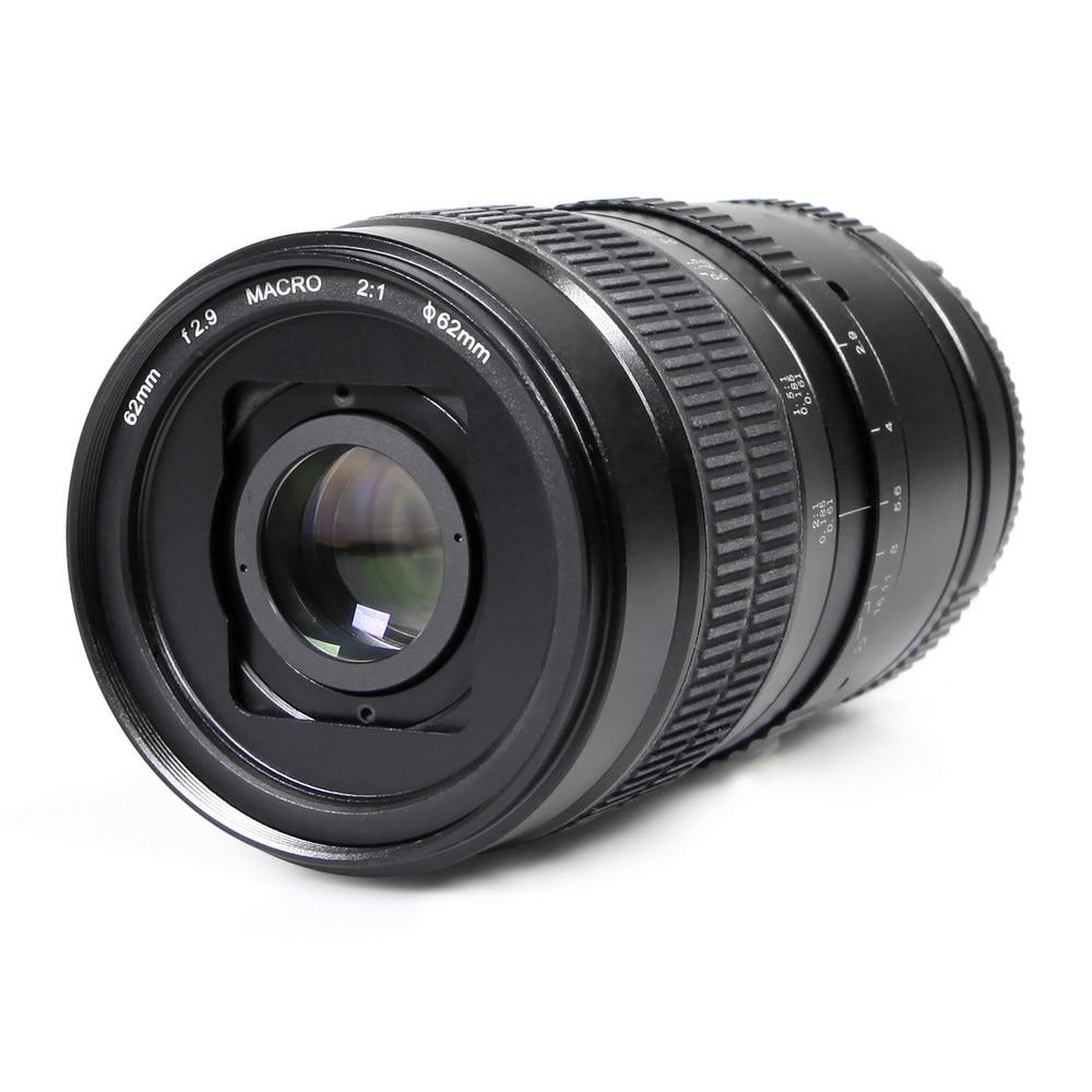Meking 62mm F2 9 2 1 2X Standard Prime Ultra Macro Lens for APS C DSLR