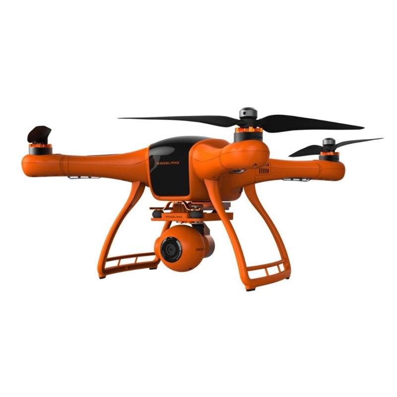 Предпродажа WINGSLAND M1 25 минут время полета FPV Wi Fi с разрешением 1080 P Камера 3 A xis Gimbal Радиоуправляемый Дрон Quadcopter