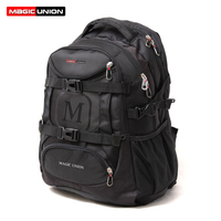 MAGIC UNION Waterproof Men S Travel Bag Man Backpack Polyester Bags Shoulder Bags Computer Packsack Brand