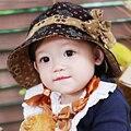 Crianças Meninas Chapéu de Sol Crianças Flores Praia Sol Balde Brim Bowknot Cap Chapéu de Algodão