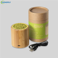 HANGRUI Bluetooth Speaker Wireless Loudspeaker Portable Wireless Solid Wooden Bluetooth Speakers Environmental Subwoofer Player