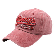 цена на SUOGRY Washed Baseball Cap Snapback Hats Autumn Summer Hat for Men and Women Cap Hats Letter Embroidery Hats Caps Gorras